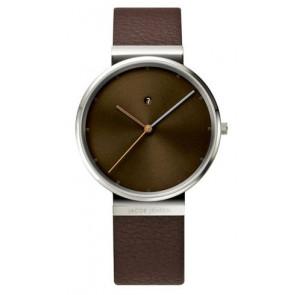 Bracelet de montre 843 Cuir Brun 19mm
