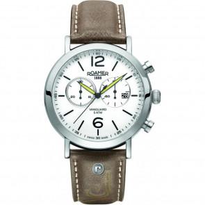 Bracelet de montre Roamer 93595-41-24-09 Cuir Brun