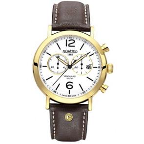 Bracelet de montre Roamer 935951-48-24-09 Cuir Brun