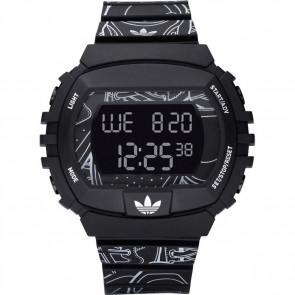 Bracelet de montre Adidas ADH6096 Plastique Noir