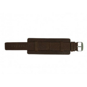 Davis bracelet de montre B0221 Cuir Brun 22mm