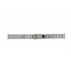 Morellato bracelet de montre BE22.0486 Métal Argent 16mm