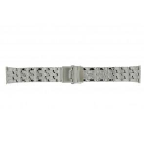 Morellato bracelet de montre BE22.0634 Métal Argent 24mm