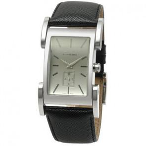 Bracelet de montre Burberry BU1100 Cuir Noir 26mm