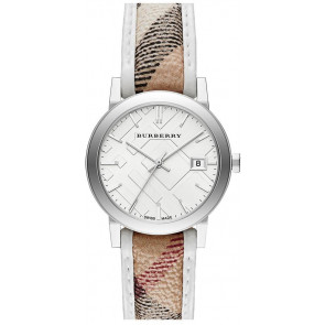 Bracelet de montre Burberry BU9136 Cuir Multicolore