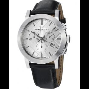 Bracelet de montre Burberry BU9358 / 7177850 Cuir Noir