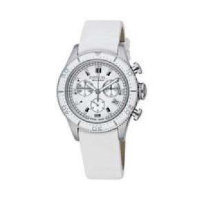 Bracelet de montre Breil BW0502 Cuir Blanc 20mm