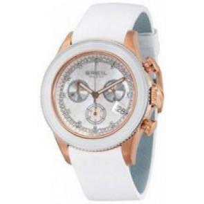 Bracelet de montre Breil BW0516 Cuir Blanc