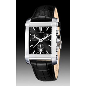 Bracelet de montre Candino C4284/H Cuir Noir 22mm