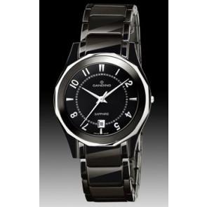 Bracelet de montre Candino C4352-1 Céramique Noir
