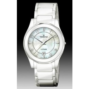 Bracelet de montre Candino C4352-2 Céramique Blanc