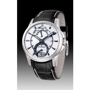 Bracelet de montre Candino C4387/2 Cuir Noir