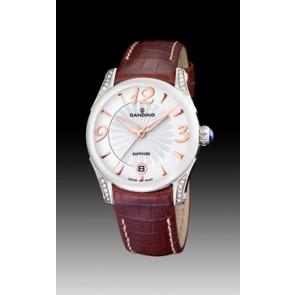 Bracelet de montre Candino C4419-2 Cuir Brun