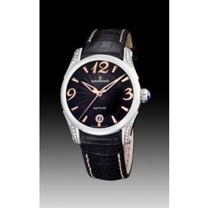 Bracelet de montre Candino C4419-3 Cuir Noir