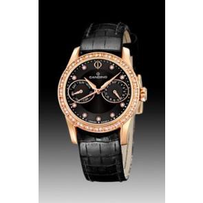 Bracelet de montre Candino C4448-3 Cuir Noir