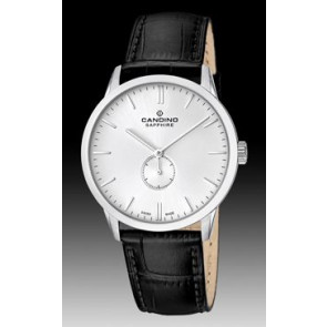 Bracelet de montre Candino C4470.01 Cuir Noir