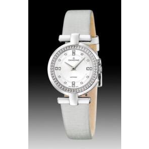 Bracelet de montre Candino C4560-1 Cuir Blanc