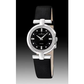 Bracelet de montre Candino C4560-2 Cuir Noir