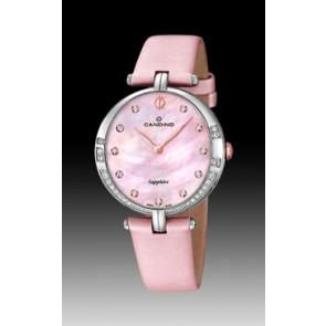 Bracelet de montre Candino C4601-3 Cuir Rose