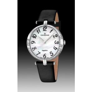 Bracelet de montre Candino C4601-4 Cuir Noir