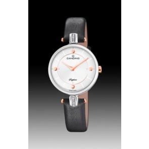 Bracelet de montre Candino C4658-2 Cuir Noir