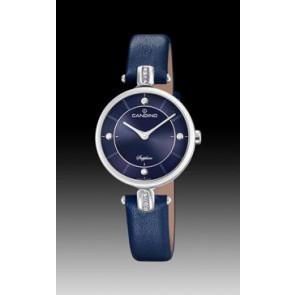 Bracelet de montre Candino C4658-3 Cuir Bleu