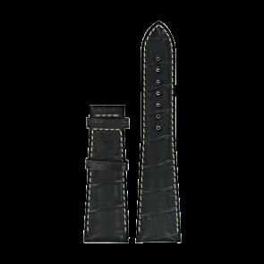 Bracelet de montre Certina C610014032 XL Cuir Noir 23mm