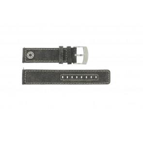 Bracelet de montre Camel BC51001 / A661.5536LFPA Cuir Gris 22mm