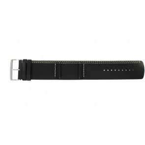 Bracelet de montre Camel BC51022 Cuir Noir 26mm