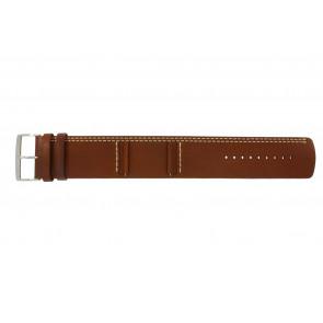 Bracelet de montre Camel BC51023 Cuir Brun 27mm