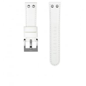 Bracelet de montre TW Steel CEB108 Cuir Blanc 22mm