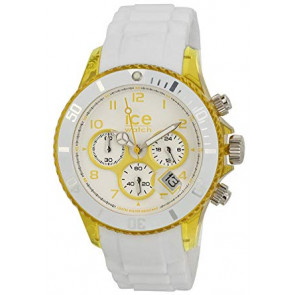 Bracelet de montre Ice Watch CH.WYW.U.S.13 Silicone Blanc 20mm