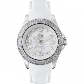 Bracelet de montre Ice Watch CY.SRW.U.L.14 Cuir Blanc
