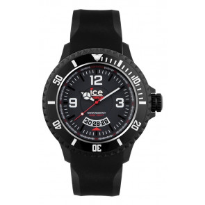 Bracelet de montre Ice Watch DI.BW.XB.R.11 Plastique Noir 20mm
