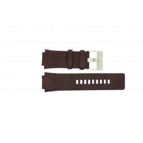 Bracelet de montre Diesel DZ1111 Cuir Brun 20mm