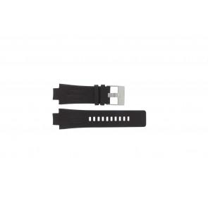 Bracelet de montre Diesel DZ4128 Cuir Brun foncé 16mm