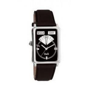 Bracelet de montre Dolce & Gabbana DW0122 Cuir Noir