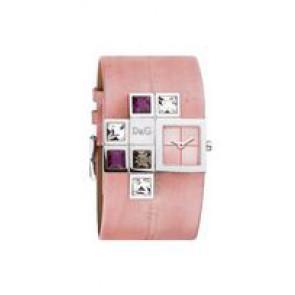 Bracelet de montre Dolce & Gabbana DW0176 Cuir Rose