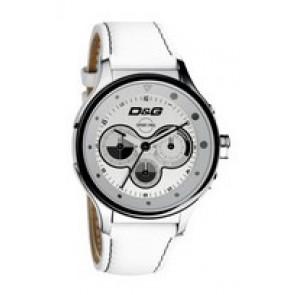 Bracelet de montre Dolce & Gabbana DW0212 (F357000728) Cuir Blanc