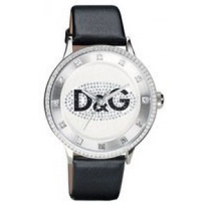 82ef1e5ddf0 Bracelet de montre Dolce   Gabbana DW0507 Cuir Noir 22mm