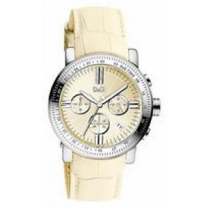 Bracelet de montre Dolce & Gabbana DW0678 Cuir Beige 22mm