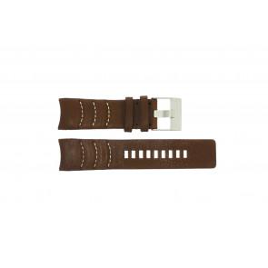Bracelet de montre Diesel DZ4037 Cuir Brun 26mm