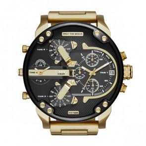 Bracelet de montre Diesel DZ7333 Acier Plaqué or 28mm