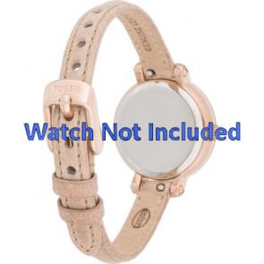 Fossil bracelet de montre ES-3139 Cuir Brun 8mm