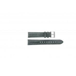 Esprit bracelet de montre ES103062 / 819660 Cuir Gris 18mm + coutures grises