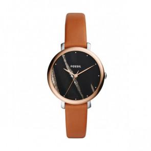 Bracelet de montre Fossil ES4378 Cuir Cognac 14mm