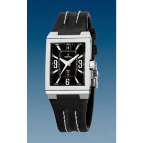 Bracelet de montre Festina F16186/07 Cuir Noir