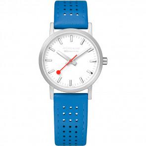 Bracelet de montre Mondaine A658.30323.16SBD / FE3116.40Q.2 Cuir Bleu 16mm