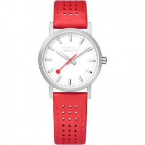 Bracelet de montre Mondaine A658.30323.16SBD / FE3116.30Q.2 Cuir Rouge 16mm