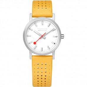 Bracelet de montre Mondaine A658.30323.16SBD / FE3116.50Q.2 Cuir Jaune 16mm